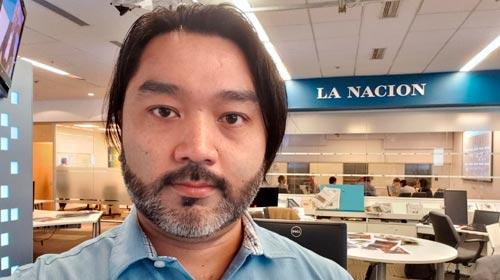 Guillermo Tomoyose, egresado UP y periodista especializado en Tecnología del diario LA NACIÓN