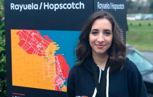 Virginia Vanni, alumna de Arte UP, participó en la Semana Art Basel Cities Buenos Aires