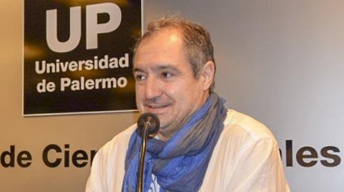 Diego Cabot, periodista de investigación del diario La Nación en la UP