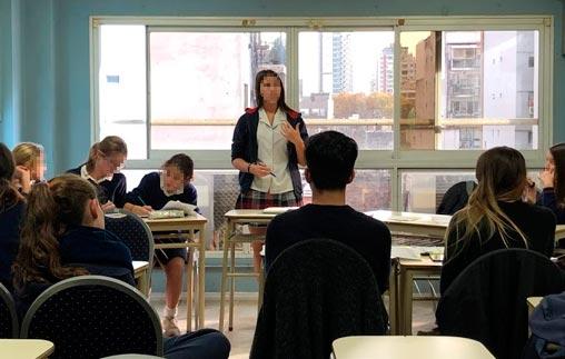 Alumnos de colegios secundarios debatieron en la UP
