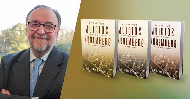 El Profesor UP Alberto Zuppi publica su obra Los otros juicios de Nuremberg