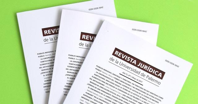 Lanzamiento del próximo número de la Revista Jurídica