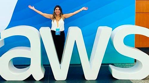 Lorena Zicker, licenciada en Publicidad UP, designada como CEO en Amazon Web Service (AWS) para Sudamérica