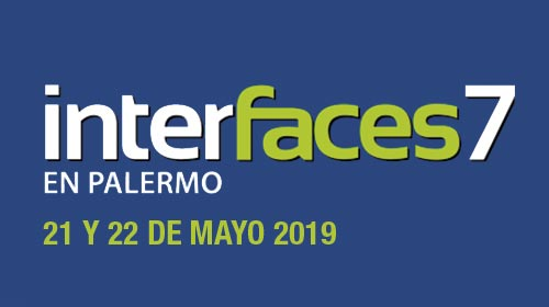 Congreso Interfaces en Palermo 2019