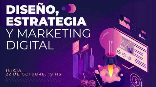 Diseño, Estrategia y Marketing Digital