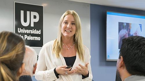 Florencia Davel, CEO de Bristol-Myers Squibb para América Latina en el Ciclo de charlas con CEOs de la UP