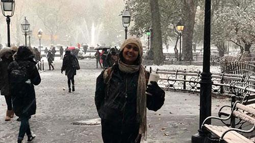 Mónica Calderón estudió MBA en UP, realizó un intercambio en New York University (NYU) y trabaja en un start-up de tecnología enfocado en RPA