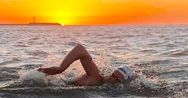 Damián Blaum, Campeón Mundial de Aguas Abiertas, estudia online Comercialización y Dirección de Empresas UP