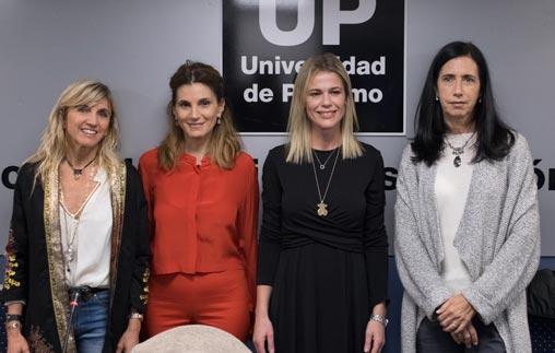 Mujeres empresarias compartieron sus experiencias de negocios con los estudiantes de UP