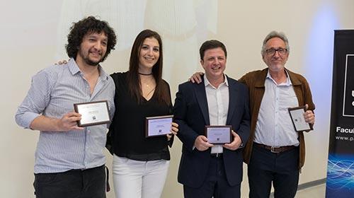 Egresados de Ingeniería distinguidos con el Premio Logro Profesional 2019