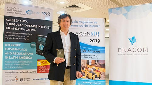 Internet Society distingue a la Facultad de Ingeniería UP en la jornada ARGENSIG 2019