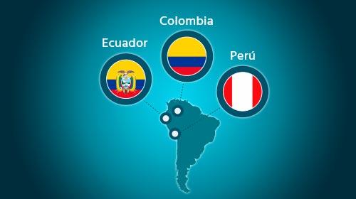 Reuniones informativas en Perú, Ecuador y Colombia