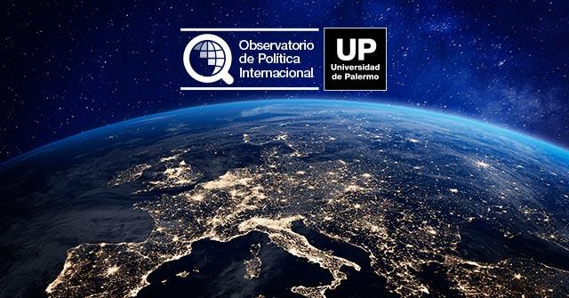 Presentación del Observatorio de Política Internacional UP