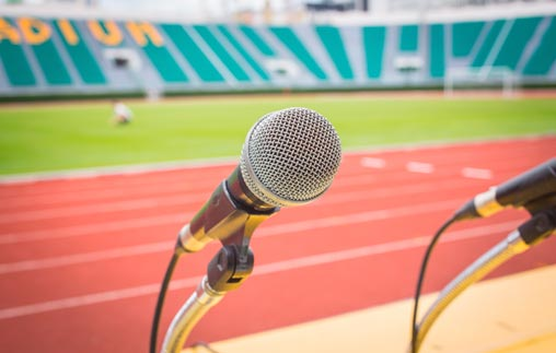 Clase magistral de Periodismo Deportivo: Juego, luego existo