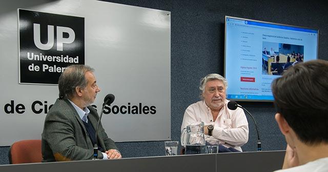 El periodista Guillermo Salatino dio una clase magistral a los alumnos de Periodismo Deportivo UP