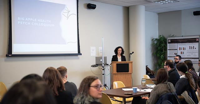 Irina Mindlis, egresada de Psicología UP, realiza un doctorado en Psicología de la salud en CUNY-City University of New York