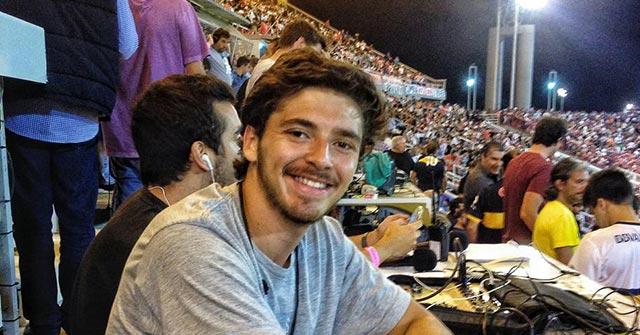 Manrique Yglesias, Periodista UP que escribió para diario Olé y ahora es redactor creativo en una agencia de publicidad de Costa Rica