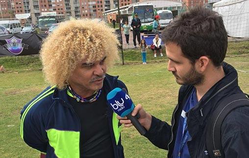 Pablo Ríos González estudió Periodismo Deportivo UP y se desempeña en Blu Radio, Colombia