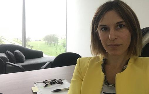 Delfina Pontoriero, psicoterapeuta egresada de la UP