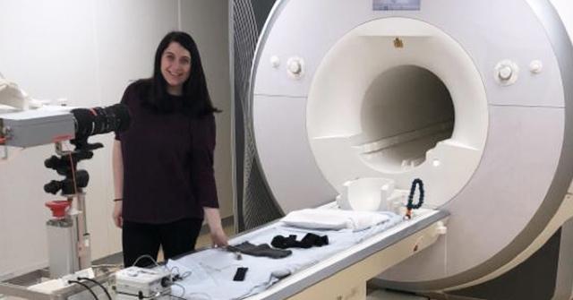 Paula Salamone egresó de Psicología UP, es becaria Doctoral de CONICET y trabaja en INCYT