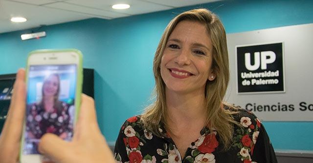 La periodista deportiva Ángela Lerena charló con los alumnos de Periodismo UP