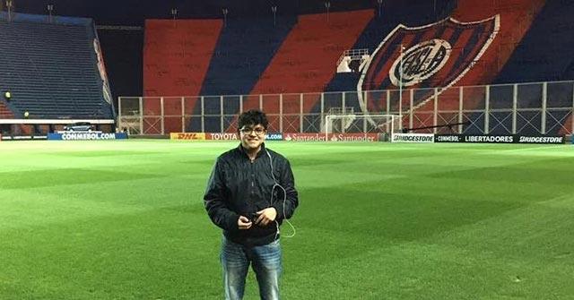Fernando Vásquez, de Ecuador, estudió Periodismo UP y trabaja en Radio Caracol