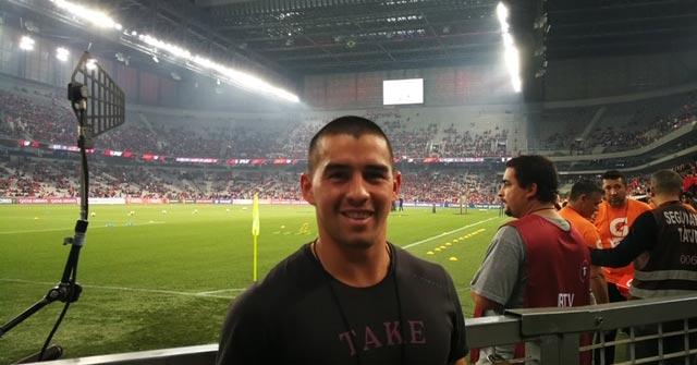 Lorenzo Enciso, periodista deportivo de TyC Sports y egresado UP