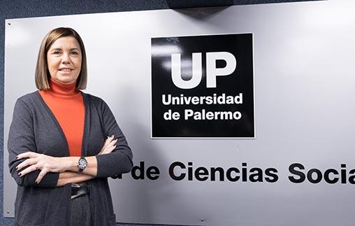 Liliana Parodi, gerenta de programación de América TV, en la UP