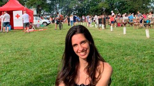 Anastasia Ilieva Stefanova es alumna en la Universidad de Valencia, España, y vino un semestre de intercambio a la UP