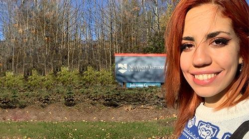 Belén Castaldo, alumna UP, realizó un intercambio en Vermont, Estados Unidos