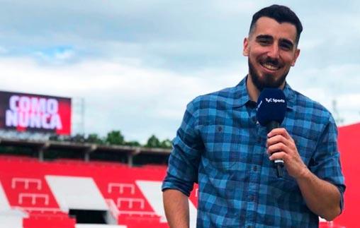Brian Pecora, egresado UP, es productor de TyC Sports