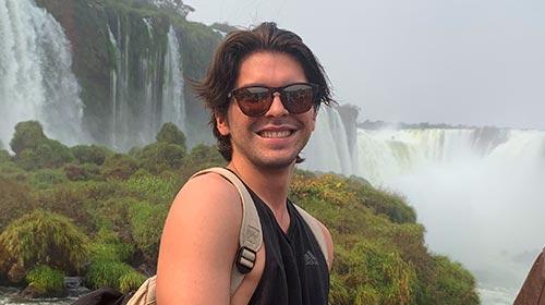 Carlos José Méndez estudia Psicología Industrial en Puerto Rico y eligió la UP para hacer un intercambio