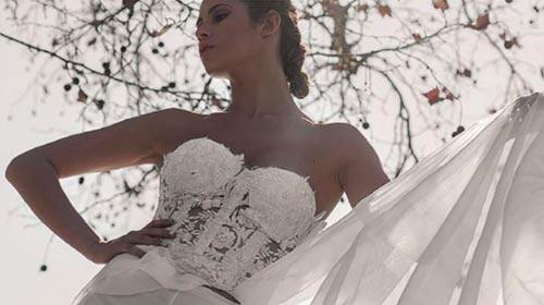 Dani Escobar Alta Costura: el vestido ideal