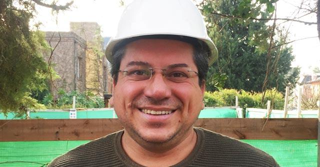 Diego Guzmán, arquitecto UP, es gerente de Tosud Constructora