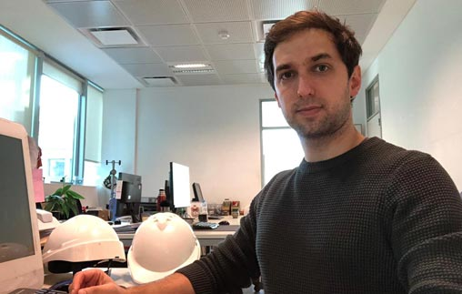 Ricardo Braga Beatove, arquitecto UP, trabaja en la Subdirección de Obras y Proyectos de la Honorable Cámara de Diputados de la Nación