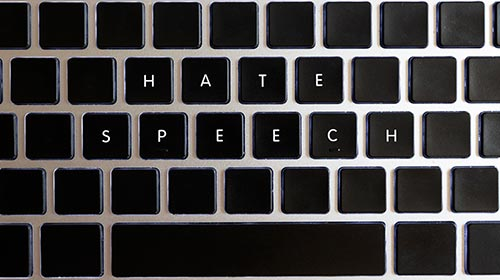 Los discursos de odio como amenaza a los derechos humanos
