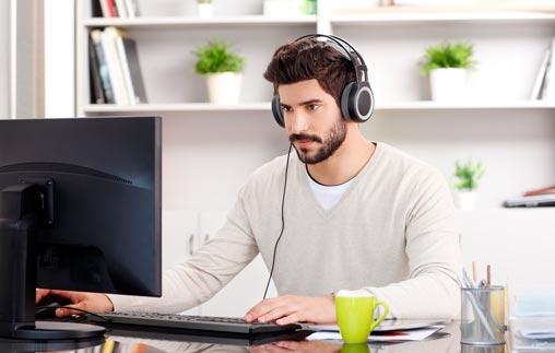 Gestión en línea de equipos de trabajo