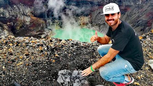 Ramiro Cristófaro, el egresado de Turismo UP que recorrió 113 países y sueña con dar la vuelta al mundo