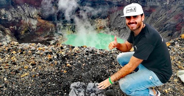 Ramiro Cristófaro,el egresado de Turismo UP que recorrió 113 países y sueña con dar la vuelta al mundo