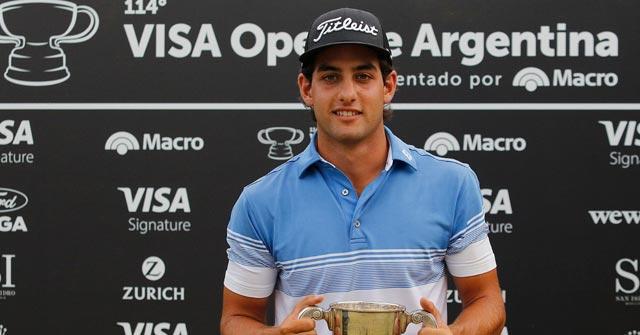 Aram Yenidjeian, promesa del golf argentino, estudia online Marketing en la UP