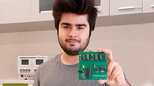 David Trejo Pizzo, estudió Ingeniería Electrónica en UP y es ganador del Innovator Under 35 Latinoamérica de MIT
