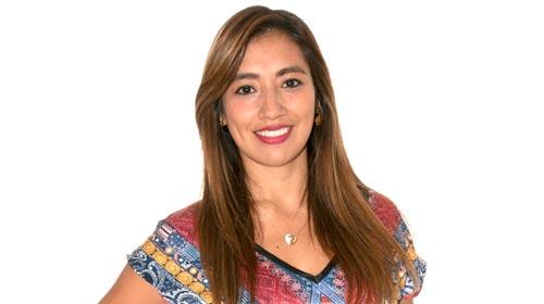 Anggie Briceño, Licenciada en Redes y Comunicación de Datos y Directiva en InterNexa