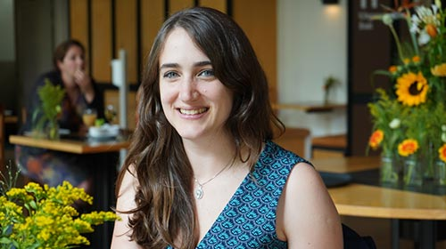 Florencia Abinzano, Ingeniera Industrial UP, es investigadora en Biofabricación en el Hospital Universitario de Utrecht