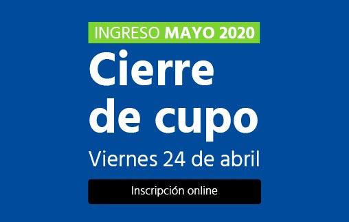 Ingreso mayo 2020