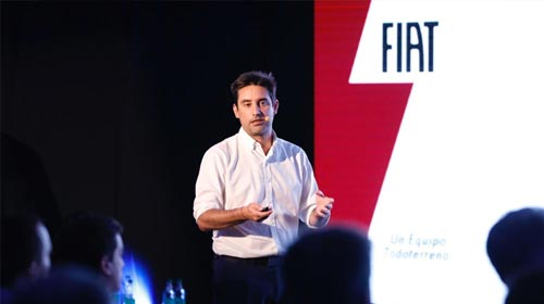 Sebastián Giménez, egresado de Publicidad UP, se desarrolla como Brand Marketing Communication para Grupo Fiat Argentina