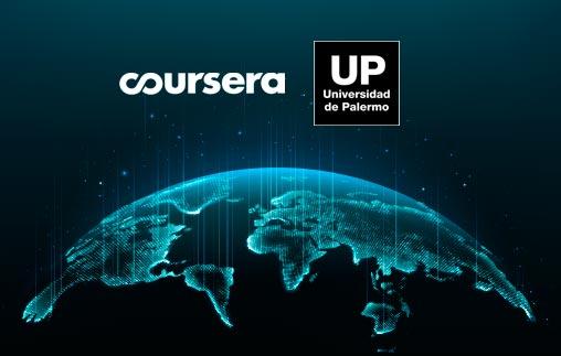 Alianza entre la Universidad de Palermo y Coursera en educación online