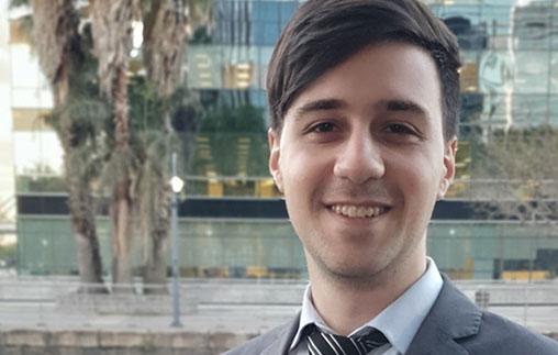Lautaro García, Contador Público UP y asesor impositivo en el estudio CROZ Tax & Legal