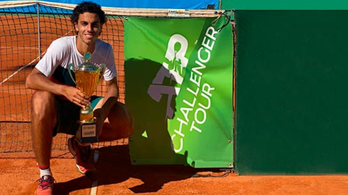 Francisco Cerúndolo, Campeón del ATP Challenger, estudia online la Lic. Management en Economía y Finanzas UP