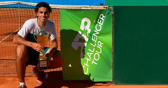 Francisco Cerúndolo, Campeón del ATP Challenger, estudia online la Lic. Management: Economía y Finanzas UP
