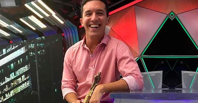 Gonzalo Bañez Villar, periodista egresado UP, se desempeña como productor en TN